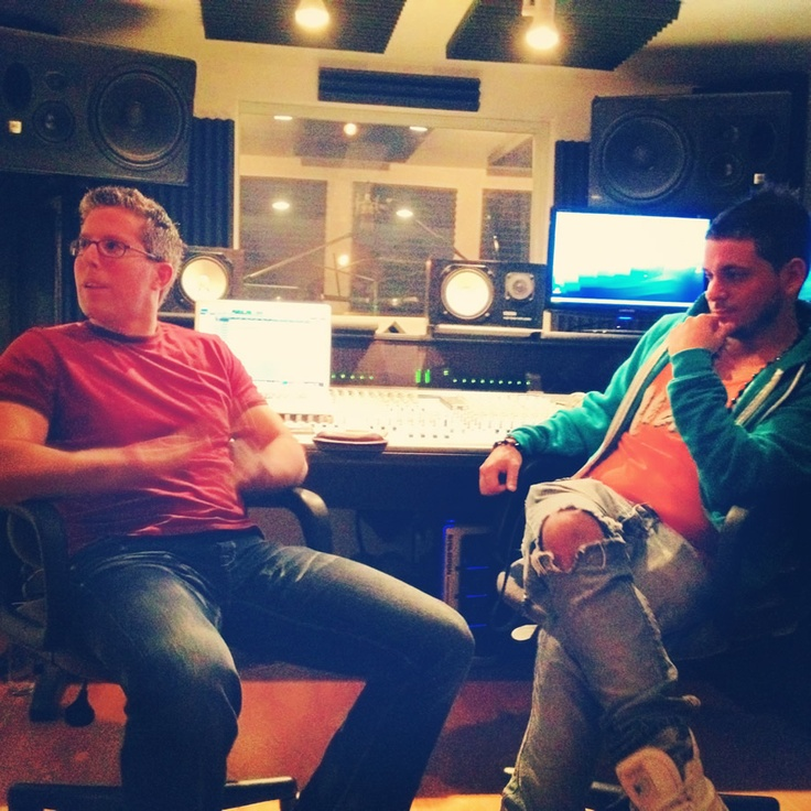 Studio session with the legendary producer Josh Harris