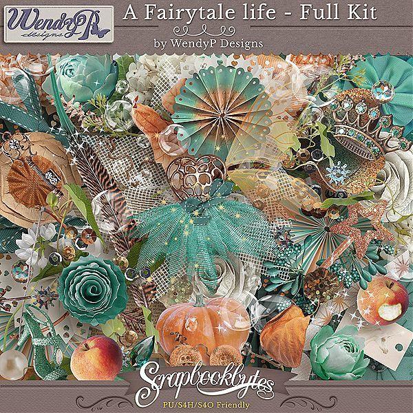 A Fairytale Life - Full Kit :: Full Kits :: Kits & Bits :: SCRAPBOOK-BYTES