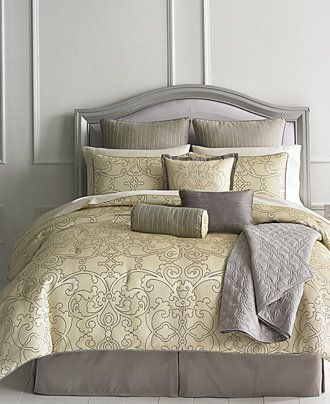 Martha Stewart Collection Vienna 22 Piece Comforter Sets - Bed in a Bag - Bed & Bath - Macy's