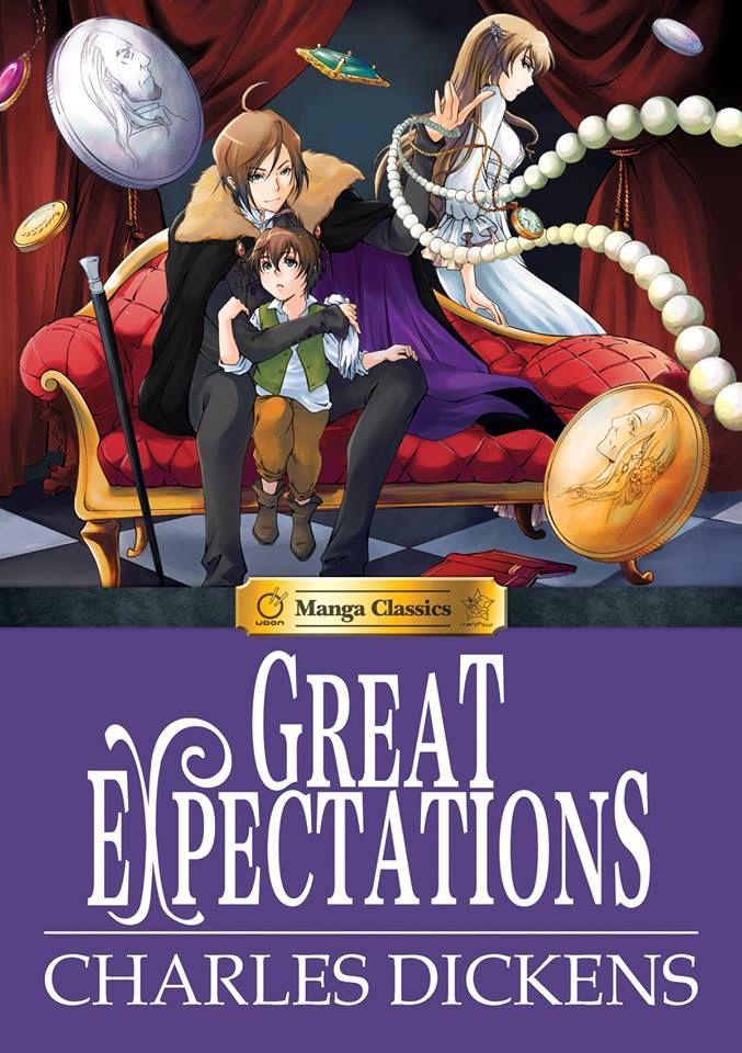 Covers Revealed! The fantastic and thrilling cover illustration for Charles Dickens' GREAT EXPECTATIONS! Look for it in Spring 2015!  Manga Classics: Great Expectations By Charles Dickens. Adapted by Crystal Chan.  Edited by Stacy King.  Illustrated by Nokman Poon.  Great Expectations has it all: romance, mystery, comedy, and unforgettable characters woven through a gripping rags-to-riches tale.   http://on.fb.me/1vlFWX3  #GreatExpectations #CharlesDickens #Dickens #MangaClassics #HardCover