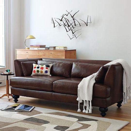 17 mejores ideas sobre sof de color chocolate marr n en
