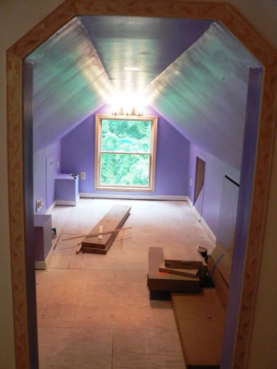 The CinemaBuilder Attic Theater Construction Thread - Page 2 - AVS Forum | Home Theater Discussions And Reviews