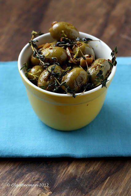 warm olive appetizer