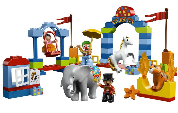 Amazon.com: LEGO DUPLO My First Circus 10504: Toys & Games