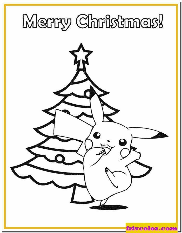 Pokemon Christmas Coloring Page Youngandtae Com In 2020 Pokemon Coloring Pages Christmas Coloring Pages Christmas Pokemon
