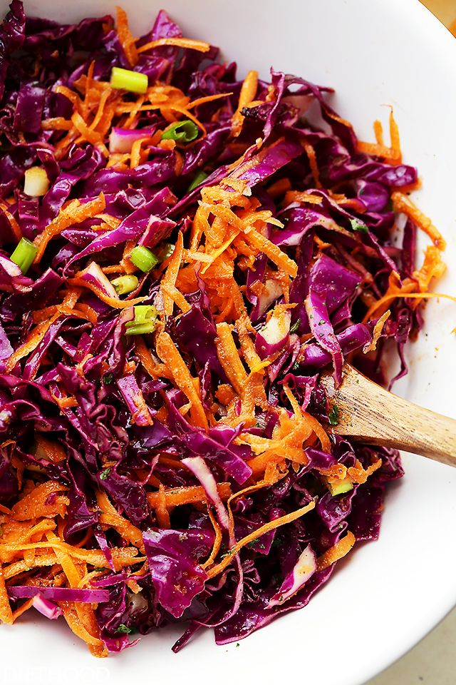 Cabbage Salad ideas on Pinterest | Red vinegar, Red cabbage coleslaw ...