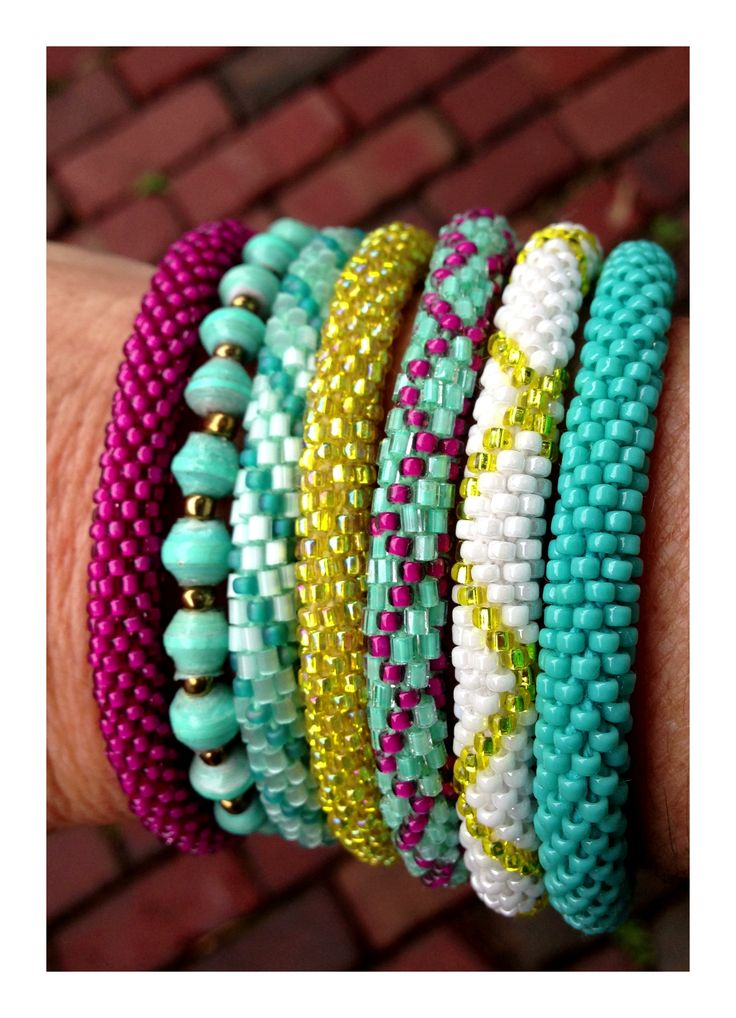 Lily and Laura bracelets!