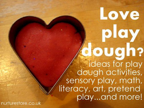 Love play dough? Over 100 play dough activities including great ideas for sensory play, math, literacy, art, pretend play and plenty more.Sensory Play, Pretend Play, Playdough Ideas