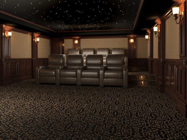Home Theater Design Houston Property Impressive Inspiration