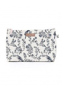 Cosmetic Bag in Flock Large