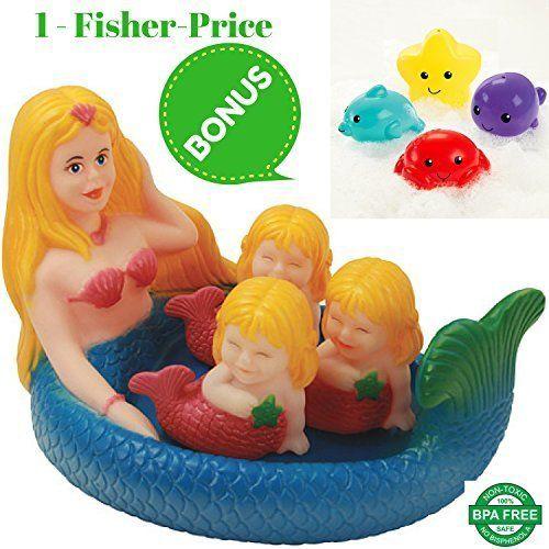Mermaid Bath Toy 4 Pack and a Complimentary Gift for Boys... https://www.amazon.com/dp/B01MQHQAZ0/ref=cm_sw_r_pi_dp_x_Pa0TybJX6F72B