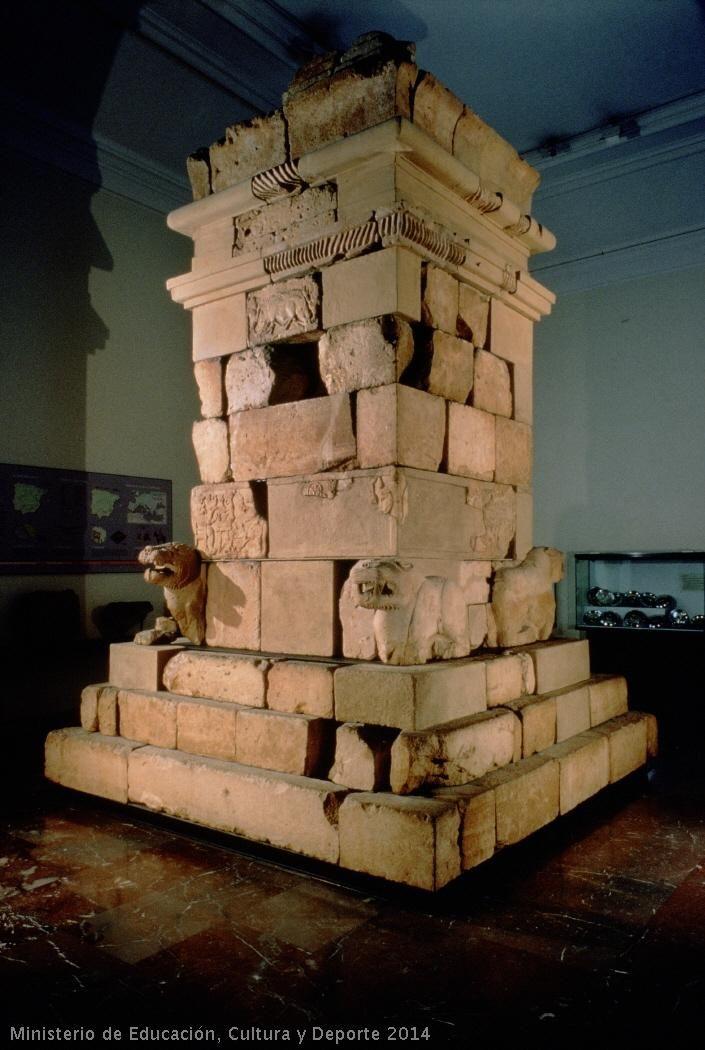 Monumento turriforme de Pozo Moro   Cultura Ibérica (ha. 500 a.C.)