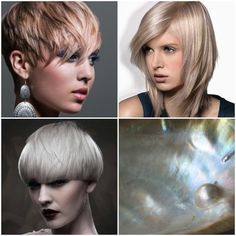 Luminous, shiny, cool and translucent: pearls contain the ideal qualities every blonde longs for. From icy platinum to chilled rosé to white gold, these blondes are the creme de la creme. Each form...
