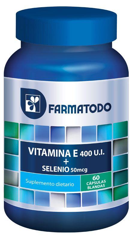VITAMINA E + SELENIO - Farmatodo