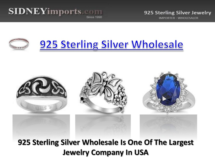 925-sterling-silver-wholesale by 925SterlingSilverx via Slideshare