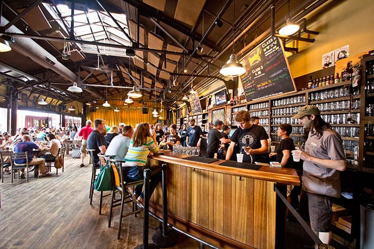 Delicious! Sipping suds at Founders Brewing Company. Image courtesy of Experience Grand Rapids.