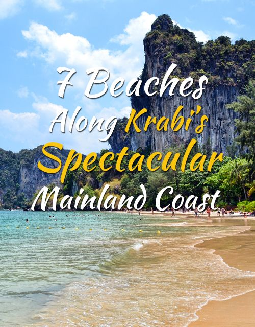 7 Beaches Along Krabi's Spectacular Mainland Coast