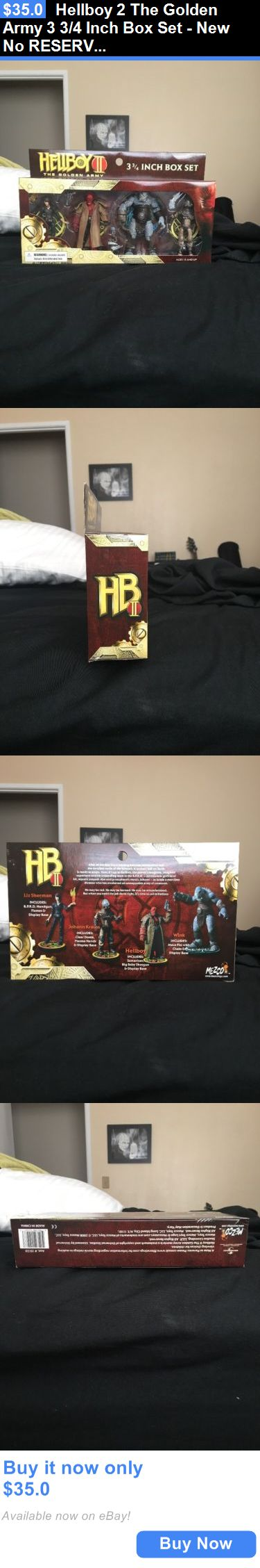 Toys And Games: Hellboy 2 The Golden Army 3 3/4 Inch Box Set - New No Reserve BUY IT NOW ONLY: $35.0