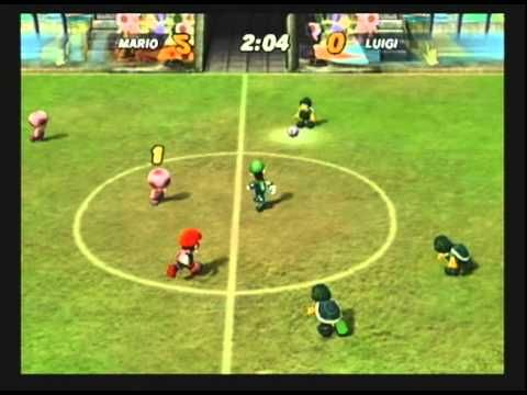 SUPER MARIO STRIKERS - Mario v.s. Luigi