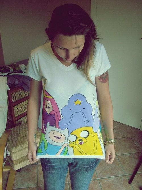 Adventure Time Shirt !
