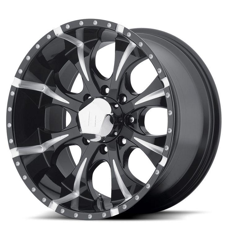 Helo Wheels HE791 Maxx Gloss Black Milled