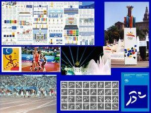 1992 Look dos jogos Jogos Olímpicos de Verão de Barcelona-1992