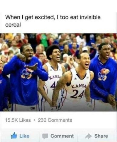 Invisible cereal
