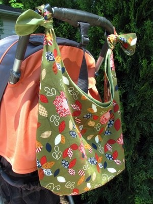 stroller bag. Would be great for our water bottles, maps, itinerary, etc.