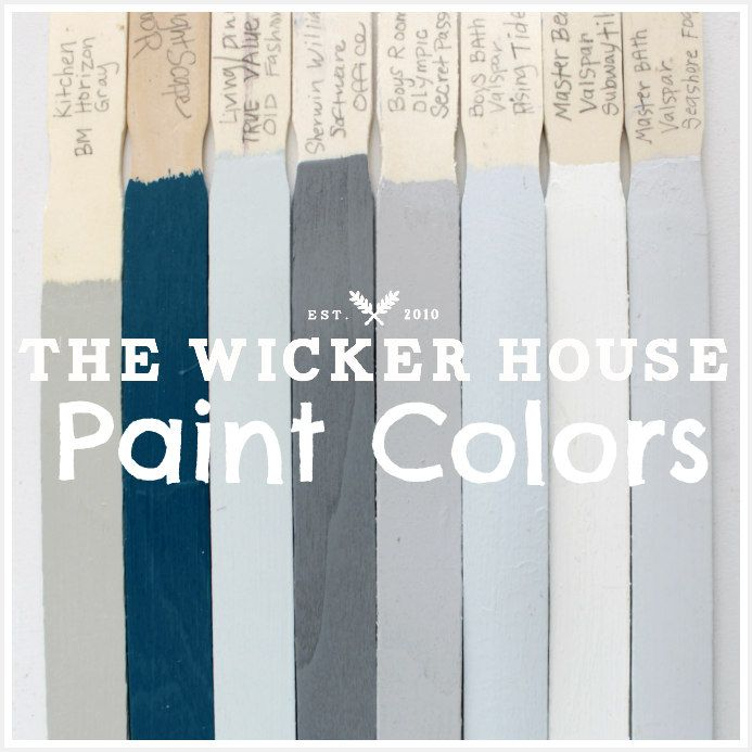 It's Here!    The post I have been promising you for the longest time ever!   This is the post where I share all of the Paint Colors in o...