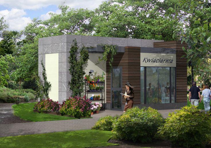 DOM.PL™ - Projekt domu ARG Kwiaciarnia U-03 CE - BUDYNEK AG3-77 - gotowy projekt domu