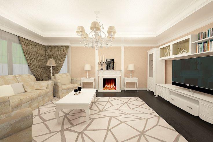 Proiect design interior living stil clasic realizat pentru o casa cu 6 camere in Brasov. #interior #design #designer #brasov