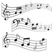 Corchea : Las notas musicales en partituras