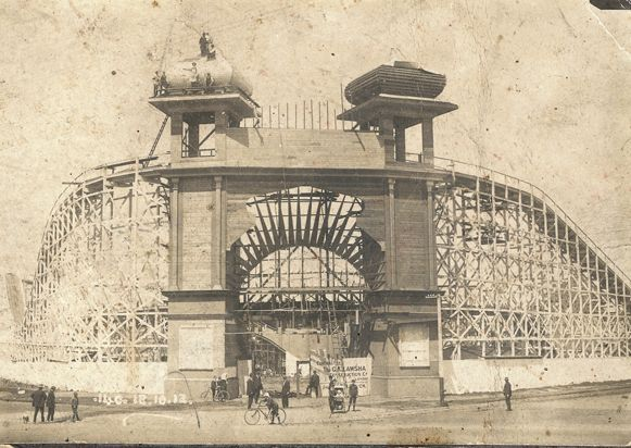 On Friday 13 December, Luna Park opens to the public for the first time. (Melbourne St Kilda)