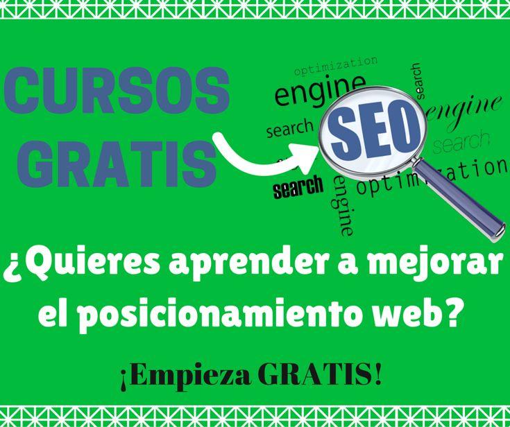 Cursos SEO Gratis para el posicionamiento web en los motores de búsqueda. Todo sobre SEO Blogging y lograr mejor ranking SEO Search Engine Optimization
