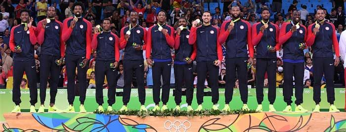 U.S. GOLD Medal 46 & The Final Medal of 2016 Rio Games Of The XXXI Olympiad Belongs To Our Men's Basketball GOLD Medalists: TEAM USA! 8/21/16