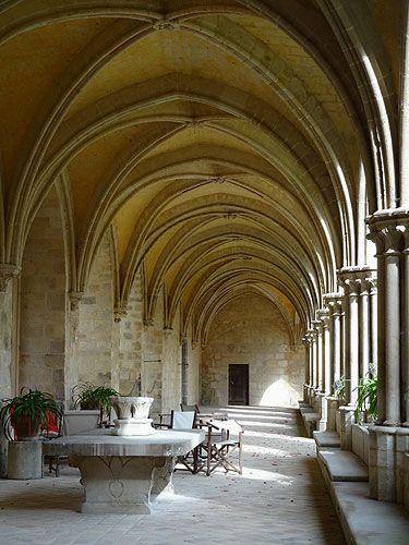 L'abbaye de Royaumont. Val-d'Oise. Ile-de-France