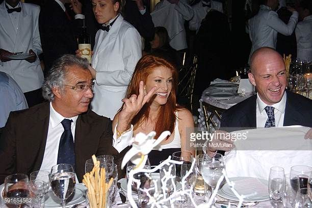 Flavio Briatore Angie Everhart and Giuseppe Cipriani attend de Grisogono Sponsors The 2005 Wall Street Concert Series Benefiting Wall Street Rising...