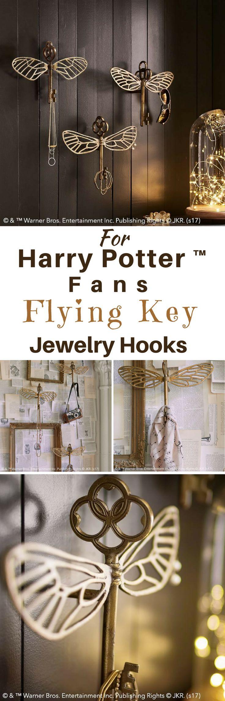 Super Harry Potter Flying Key Schmuck Haken! Liebe es, liebe es, liebe es!