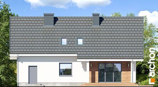 Elewacja ogrodowa projekt dom w zloci a  267