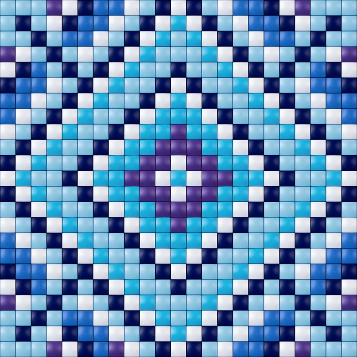 Blue design - Pixelhobby / Pixelgift