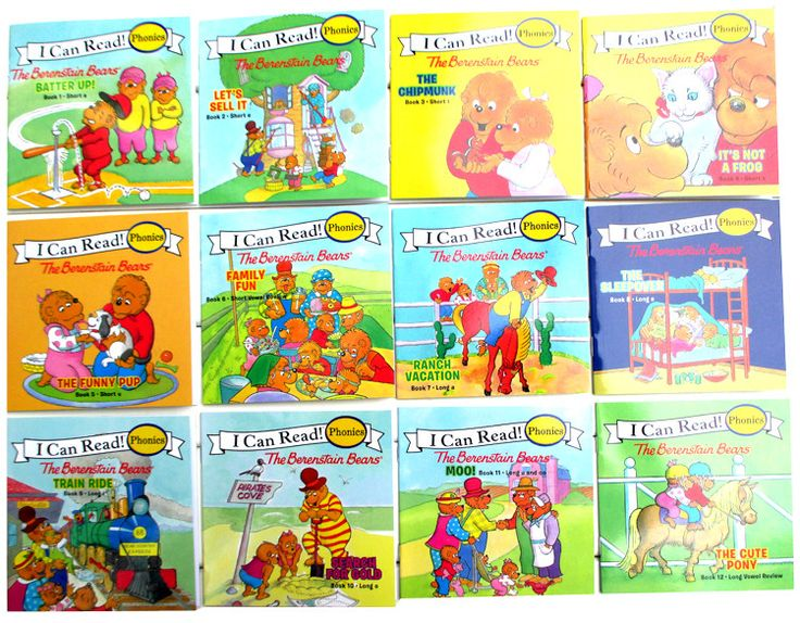 I Can Read Series- Berenstain Bears