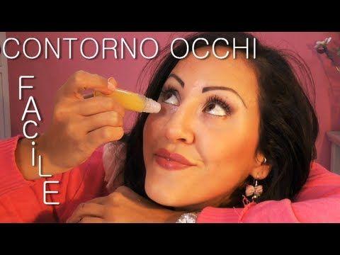 ▶ Roll-on CONTORNO OCCHI Fai da te (per imbranate!XD) - YouTube