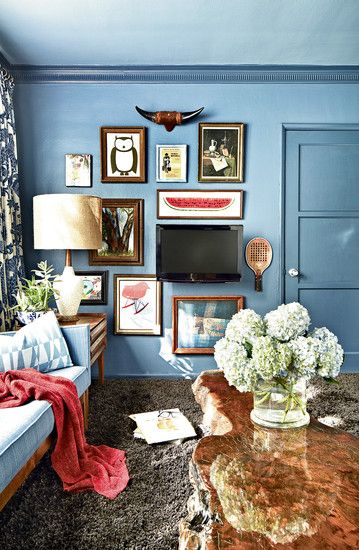 television with art, gallery wall, TV solutions