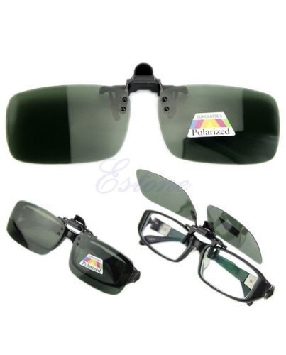 89b2fdc96d Driving Glasses Polarized Day Night Vision Clip-on Flip-up Lens Sunglasses   fashion