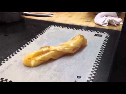 blown sugar into a fish pulled sugar sugar showpiece part 2 youtube