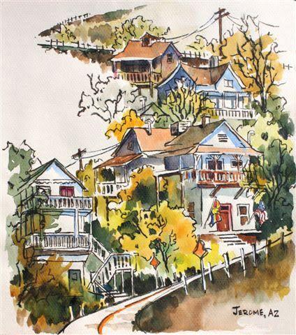 Brenda Swenson: Watercolor on Mi-Teintes