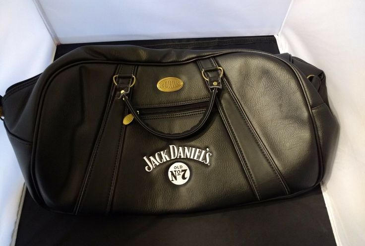 Jack Daniels No 7 Pleather Suitcase. One Of A Kind! Made In The Usa