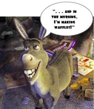 6792a02373931cf8d8f48104fd86d4ed shrek quotes pixar quotes 25 best donkey shrek images on pinterest donkeys, funny stuff,Donkey Waffles Meme