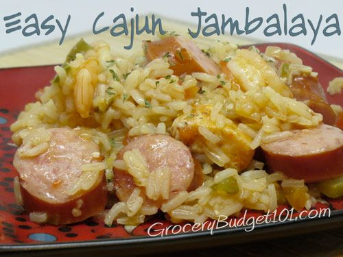 GroceryBudget101.com- - Easy Cajun Jambalaya | How to Make Jambalaya | Cajun Recipes