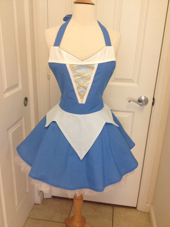 Hey, I found this really awesome Etsy listing at https://www.etsy.com/listing/260237400/sleeping-beauty-adult-full-apron